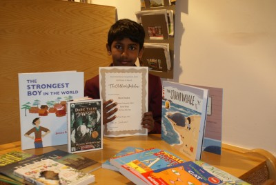 APS boy wins national illustrated story competition