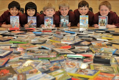 DVD Sale Raises over £300