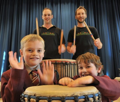 Video: Drumming Workshop for Years 3 and 4