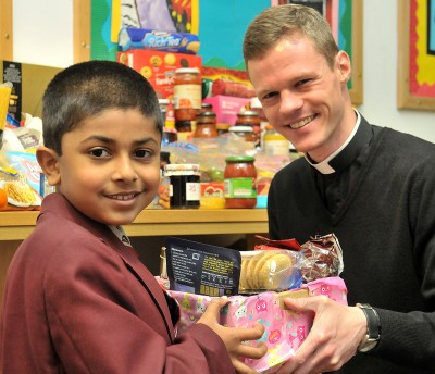 Harvest Assembly helps feed 50 families this Christmas