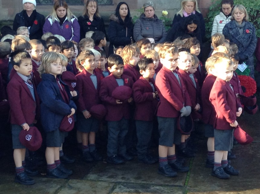 APS marks Armistice Day