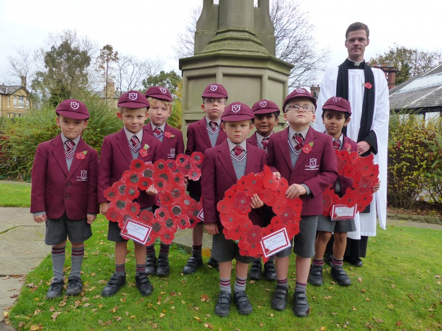 APS boys mark Armistice Day