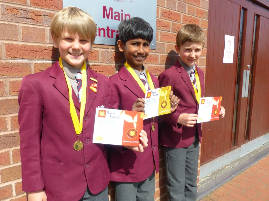 APS boys win medals at international maths competition