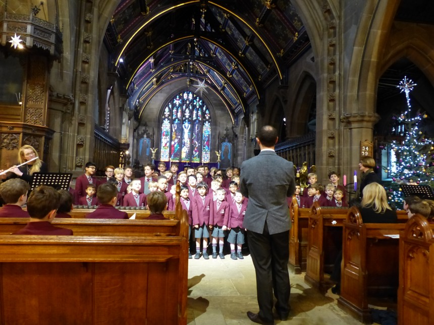 APS Christmas service brings Peace & Majesty to St Mary's Bowdon