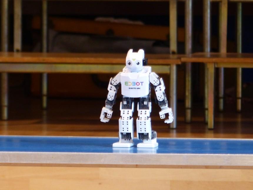 Robots take over Altrincham Preparatory School… for a week