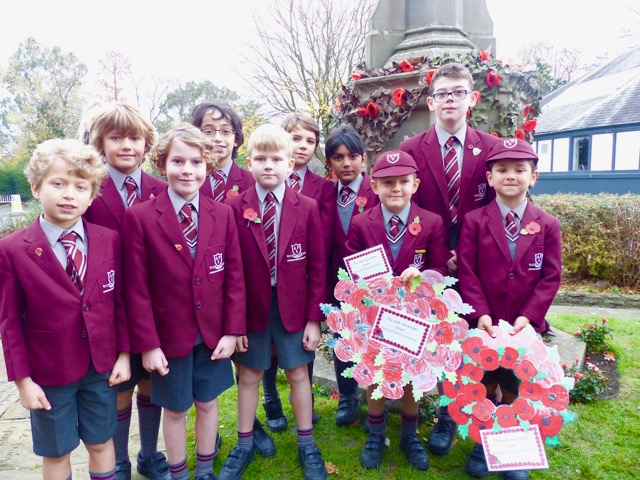 APS boys mark centenary of Armistice