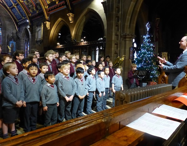 APS Christmas Service celebrates love coming down at Christmas