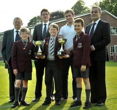 Olympic Gold Medalist Jason Kenny OBE inspires APS boys at Speech Night