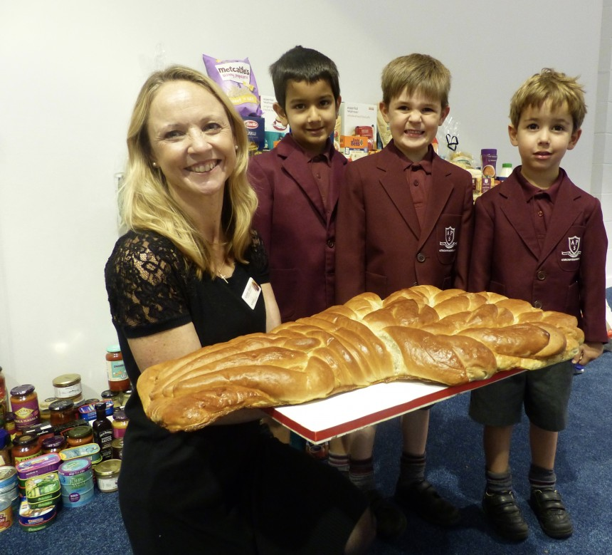 "Altrincham Preparatory School's Reception classes take part in ""modern day miracle"""