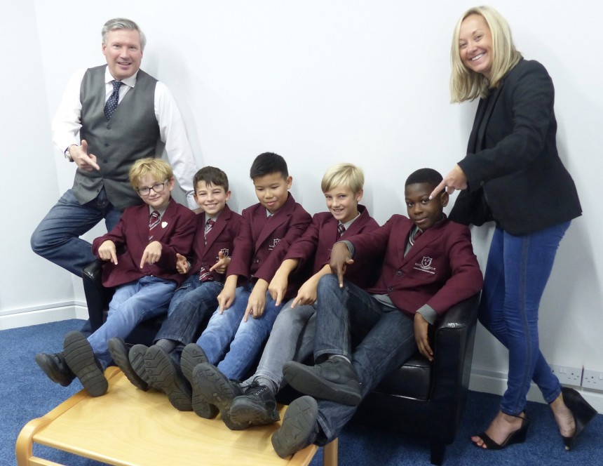 APS BOYS RAISE MONEY FOR JEANS FOR GENES DAY