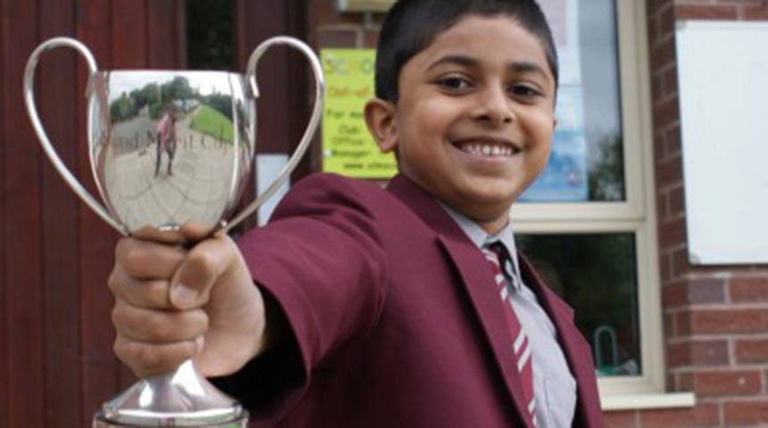 Year 3 APS boy hailed a lifesaver