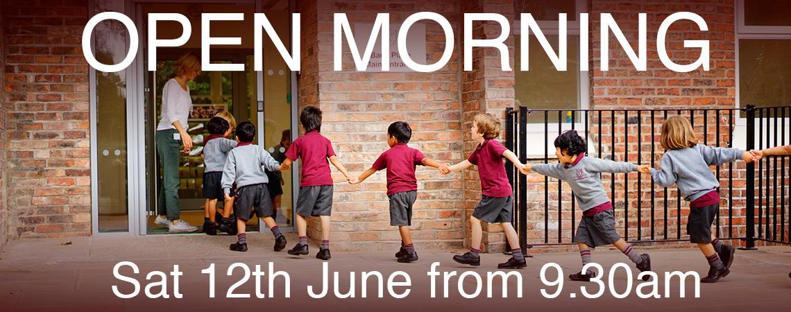 Open Morning Registration